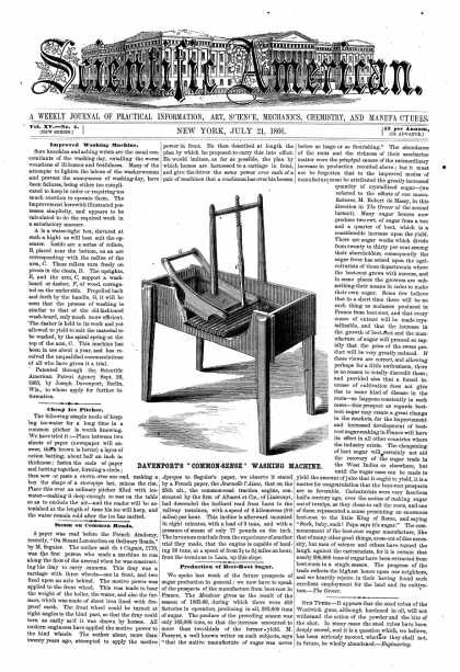 Scientific American - July 21, 1866 (vol. 15, #4)