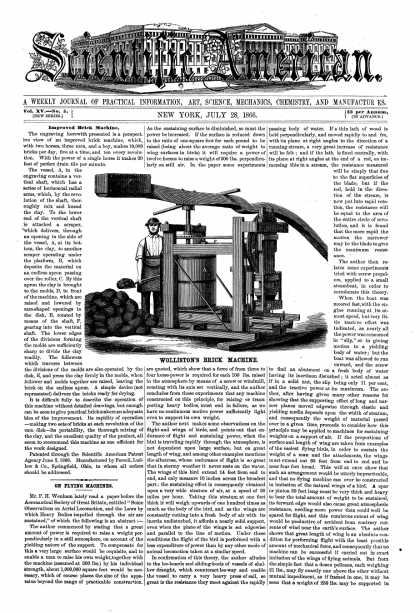 Scientific American - July 28, 1866 (vol. 15, #5)
