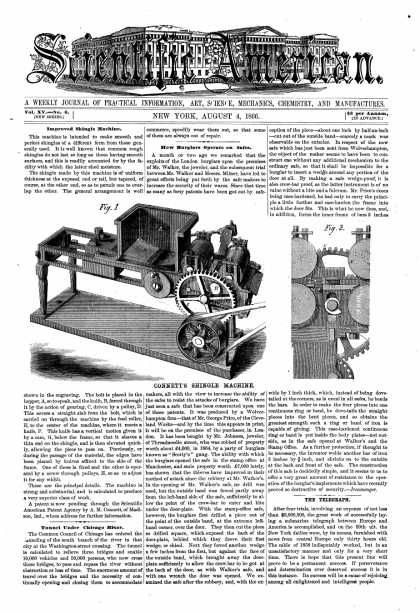 Scientific American - Aug 4, 1866 (vol. 15, #6)