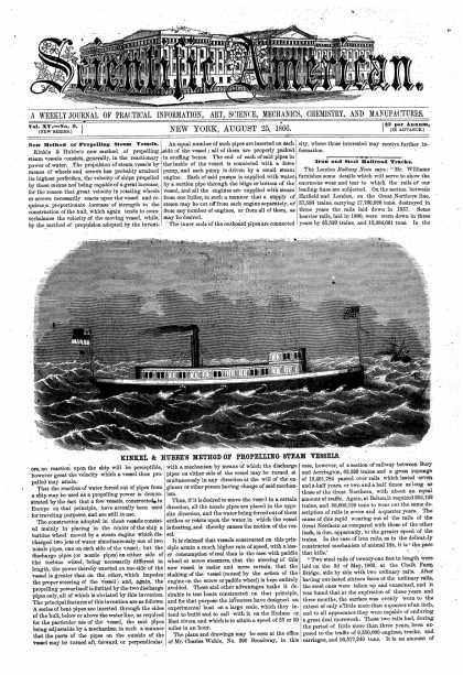 Scientific American - Aug 25, 1866 (vol. 15, #9)