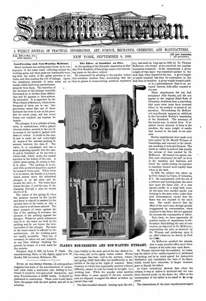Scientific American - Sept 8, 1866 (vol. 15, #11)