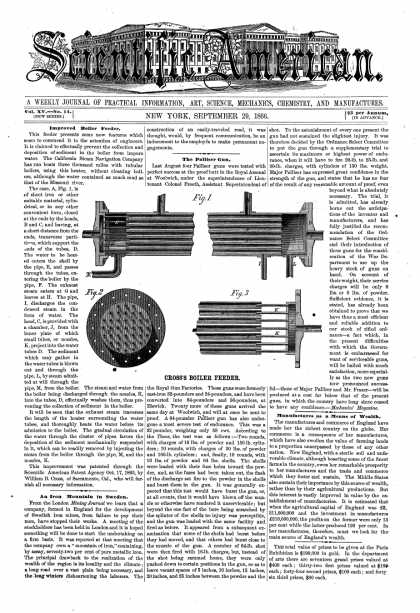 Scientific American - Sept 29, 1866 (vol. 15, #14)