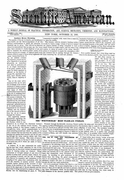 Scientific American - Oct 13, 1866 (vol. 15, #16)