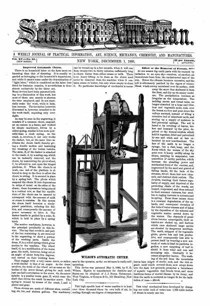 Scientific American - Dec 1, 1866 (vol. 15, #23)