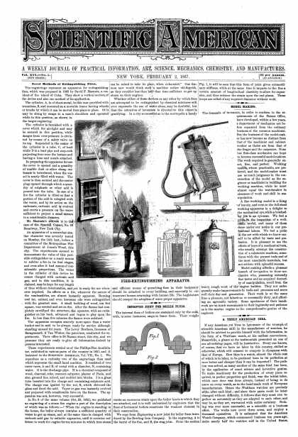 Scientific American - Feb 2, 1867 (vol. 16, #5)