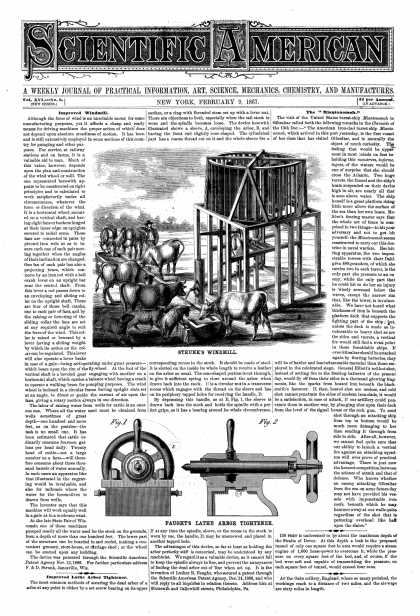 Scientific American - Feb 9, 1867 (vol. 16, #6)