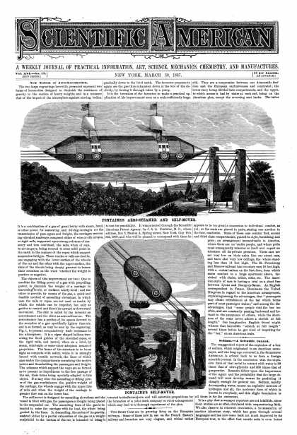 Scientific American - Mar 30, 1867 (vol. 16, #13)
