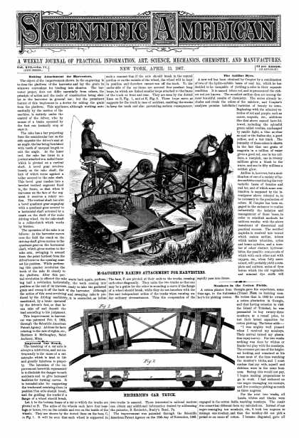 Scientific American - Apr 13, 1867 (vol. 16, #15)