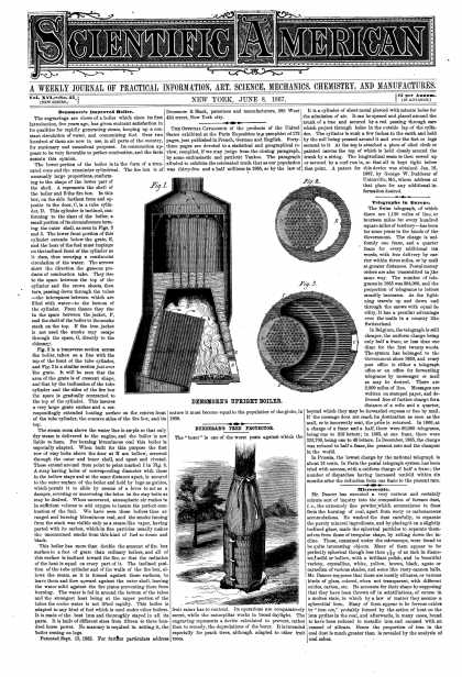 Scientific American - June 8, 1867 (vol. 16, #23)