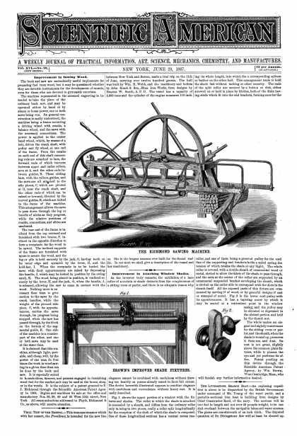 Scientific American - June 29, 1867 (vol. 16, #26)