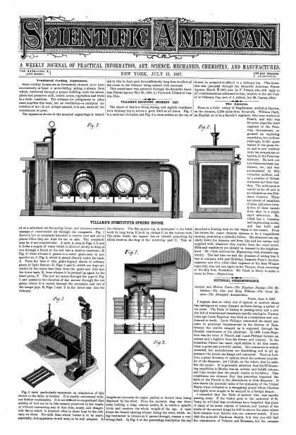 Scientific American - July 13, 1867 (vol. 17, #2)