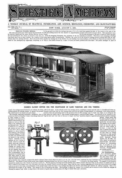Scientific American - Aug 5, 1868 (vol. 19, #6)