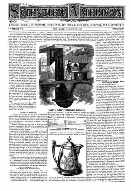 Scientific American - Aug 12, 1868 (vol. 19, #7)