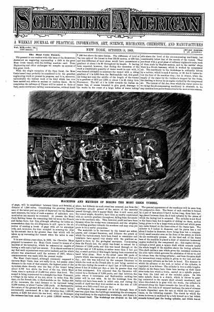 Scientific American - Oct 14, 1868 (vol. 19, #16)