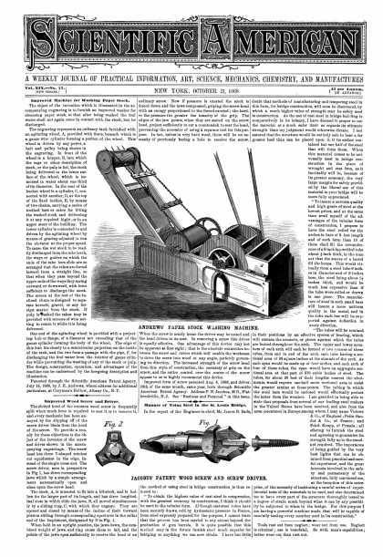 Scientific American - Oct 21, 1868 (vol. 19, #17)