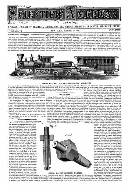 Scientific American - Oct 28, 1868 (vol. 19, #18)
