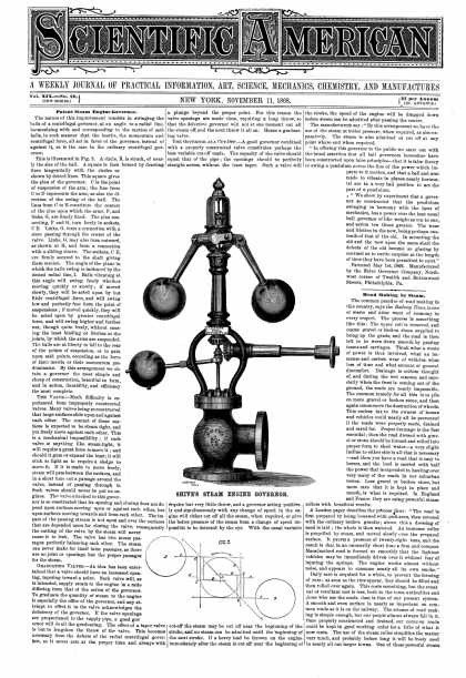 Scientific American - Nov 11, 1868 (vol. 19, #20)