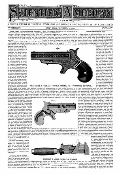 Scientific American - Nov 18, 1868 (vol. 19, #21)