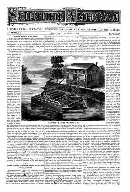 Scientific American - Jan 9, 1869 (vol. 20, #2)