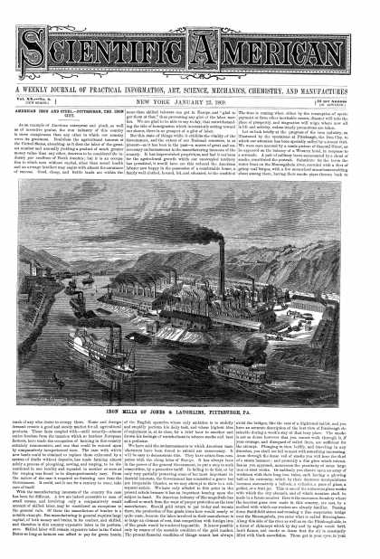Scientific American - Jan 23, 1869 (vol. 20, #4)