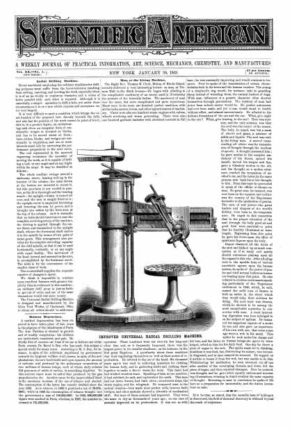 Scientific American - Jan 30, 1869 (vol. 20, #5)