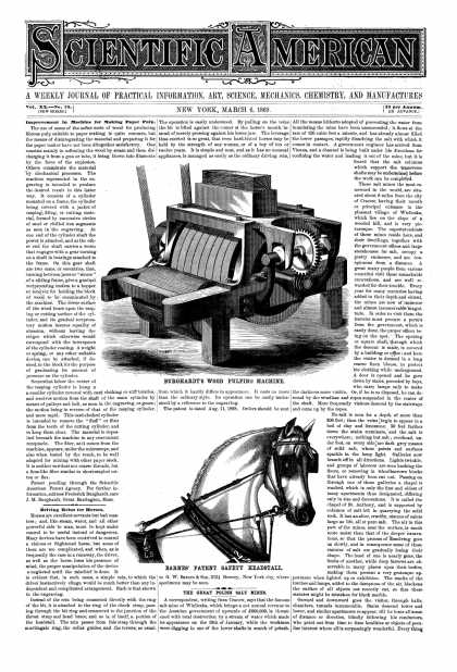 Scientific American - Mar 6, 1869 (vol. 20, #10)