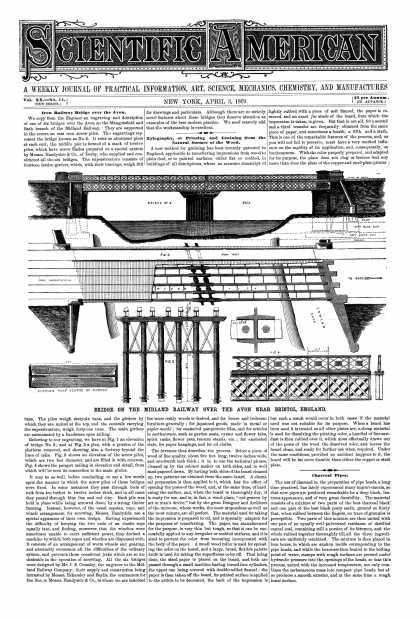 Scientific American - Apr 3, 1869 (vol. 20, #14)