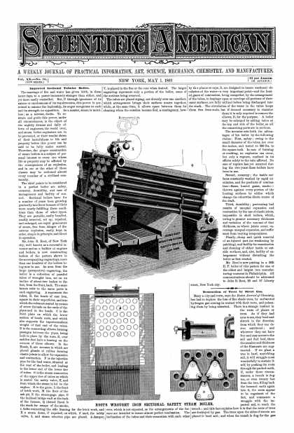 Scientific American - May 1, 1869 (vol. 20, #18)