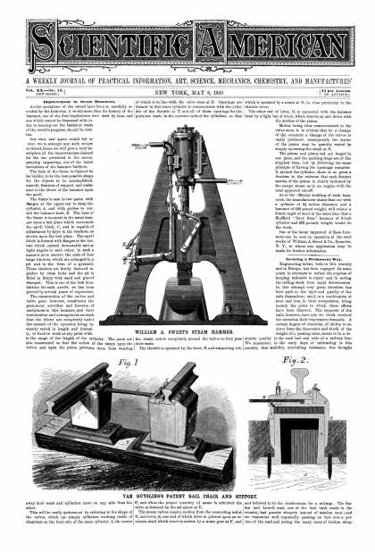 Scientific American - May 8, 1869 (vol. 20, #19)