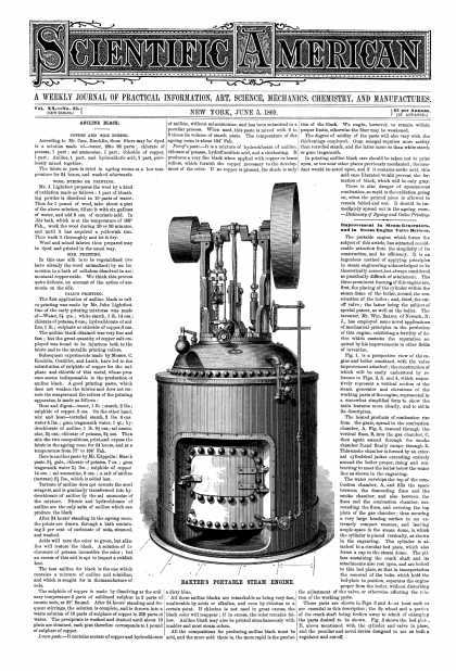 Scientific American - June 5, 1869 (vol. 20, #23)