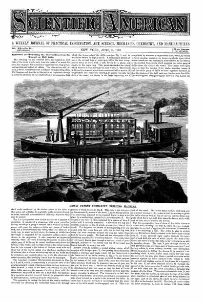 Scientific American - June 19, 1869 (vol. 20, #25)