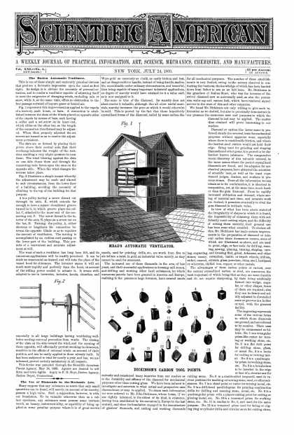 Scientific American - July 24, 1869 (vol. 21, #4)