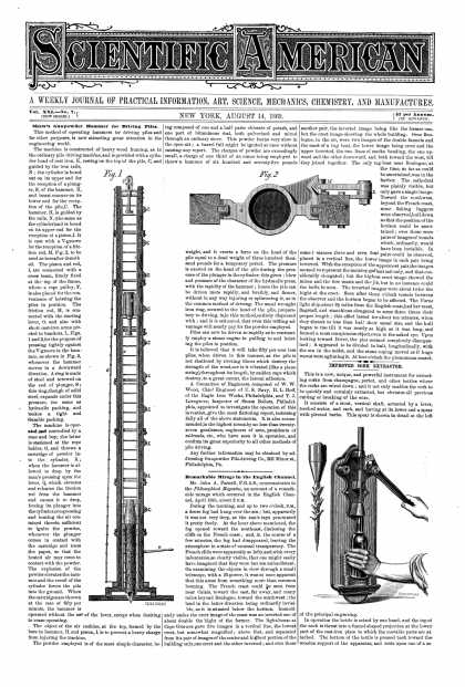 Scientific American - Aug 14, 1869 (vol. 21, #7)