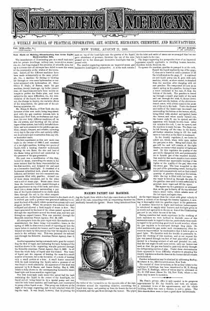 Scientific American - Aug 21, 1869 (vol. 21, #8)