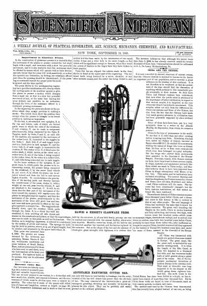 Scientific American - Sept 18, 1869 (vol. 21, #12)