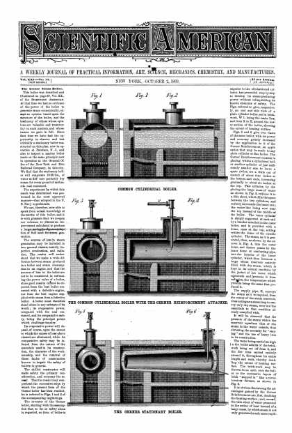 Scientific American - Oct 2, 1869 (vol. 21, #14)