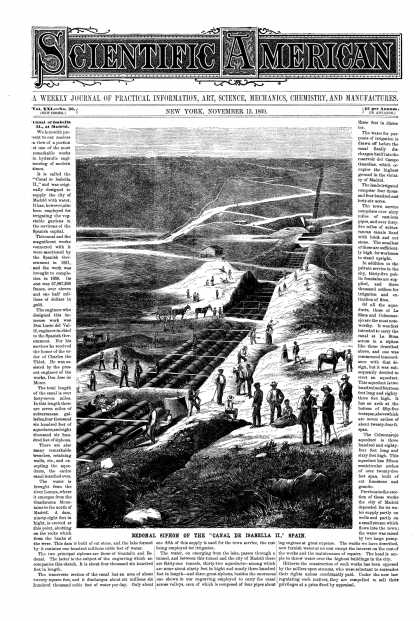Scientific American - Nov 13, 1869 (vol. 21, #20)