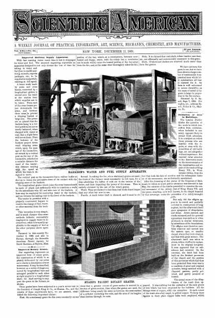 Scientific American - Dec 11, 1869 (vol. 21, #24)
