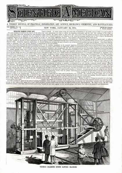 Scientific American - 1875-01-30