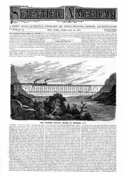 Scientific American - 1875-02-20