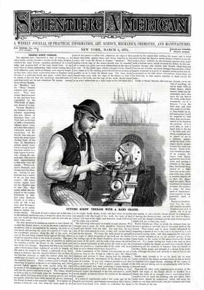 Scientific American - 1875-03-06