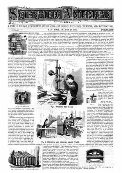 Scientific American - 1875-03-20