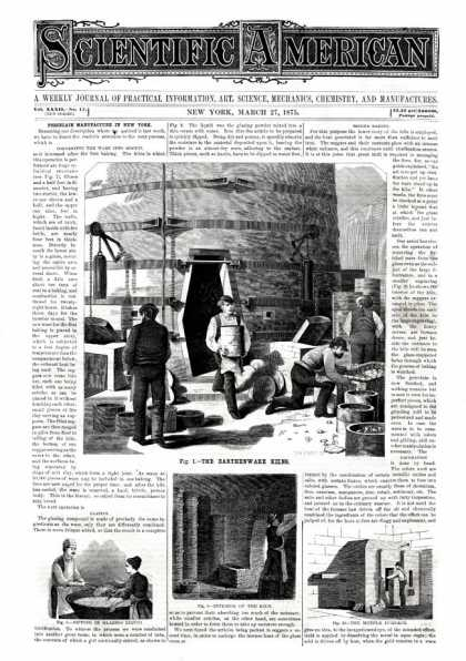 Scientific American - 1875-03-27