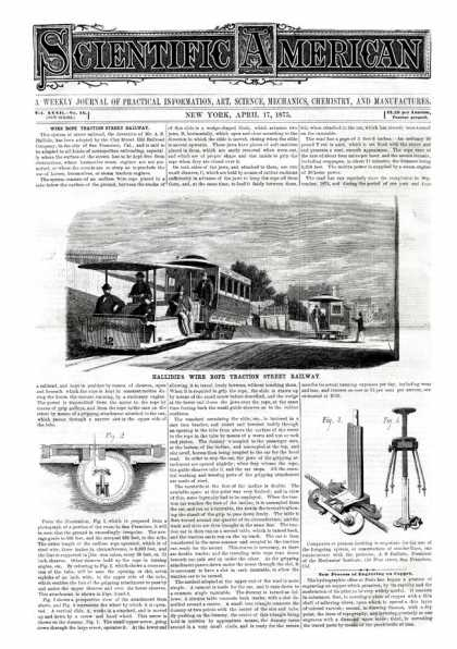 Scientific American - 1875-04-17