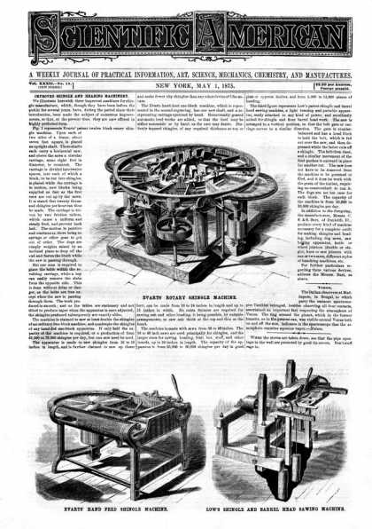 Scientific American - 1875-05-01