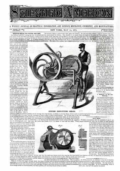 Scientific American - 1875-05-15