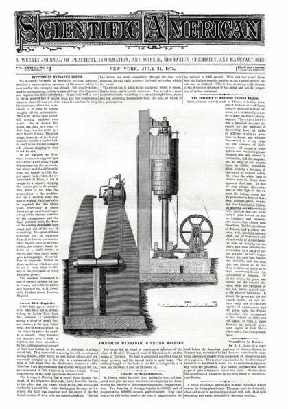 Scientific American - 1875-07-24