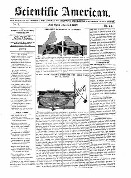 Scientific American - March 3, 1849 (vol. 4, #24)