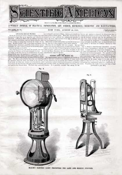 Scientific American - 1880-08-28
