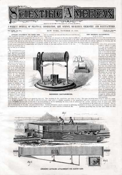 Scientific American - 1880-10-30